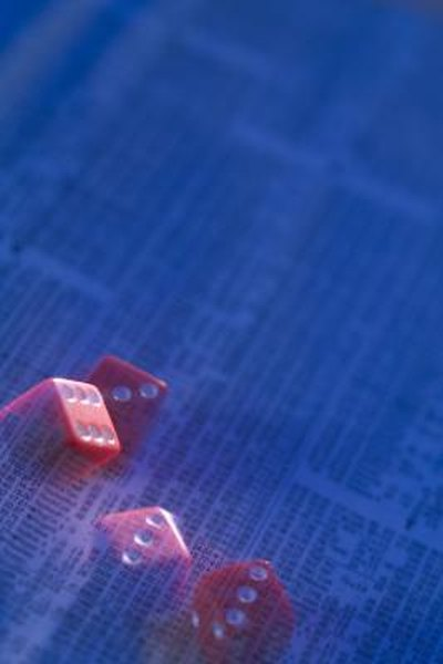 Stock trading is always a gamble, but math suggests the odds.