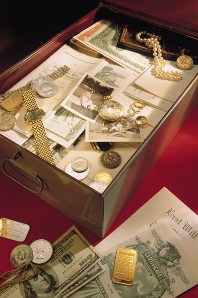 Forgotten safe-deposit boxes are often the reason for lost stock certificates.