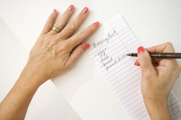 Faça uma lista e organize o cardápio da semana com as promoções