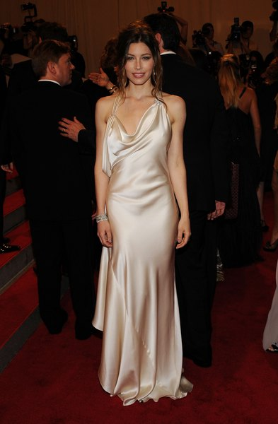 A atriz Jessica Biel -- nesta foto no Met Costume Institute Gala de 2010