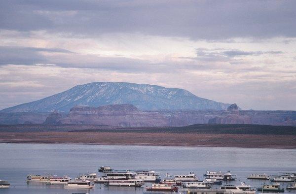 Lake Powell in Utah is a reservoir.