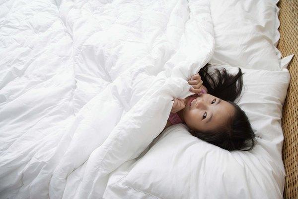 Las sábanas de poliéster tienen el beneficio de ser muy térmicas.