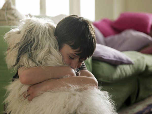 A family dog can teach kindness and compassion.