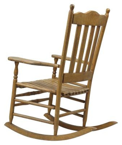 How To Upholster Early American Style Rocking Chairs With