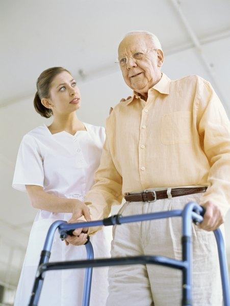 Restorative Nursing Training Woman