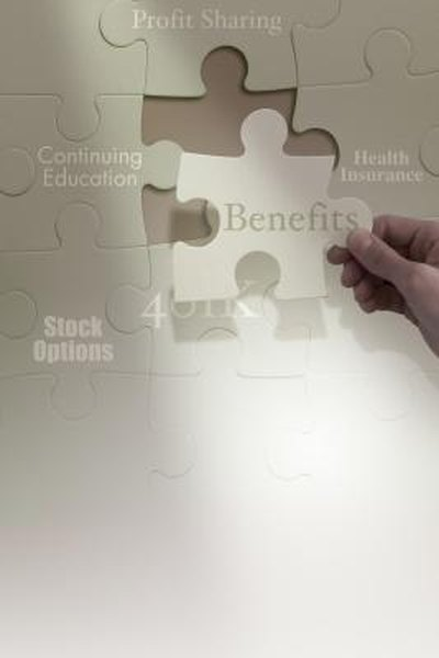 Fringe benefits and employee benefits describe extra, non-wage compensation.