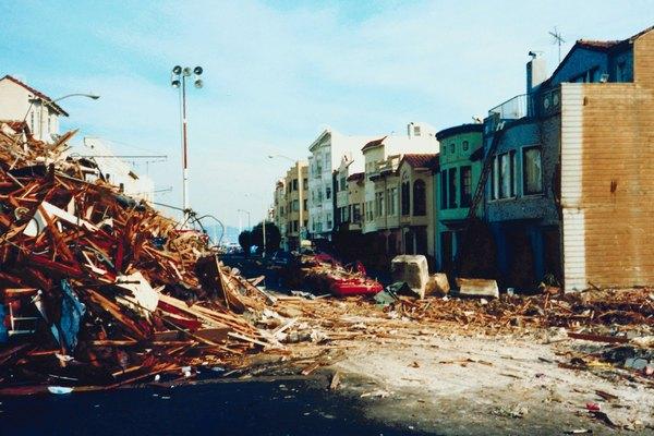 Un terremoto que destruyó la ciudad.