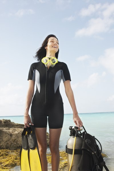 Scuba diving is one way zoologists study marine animals.