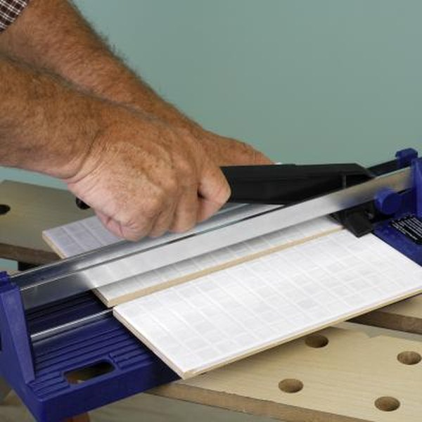 How To Cut Ceramic Tile Without A Tile Cutter Home Guides Sf Gate