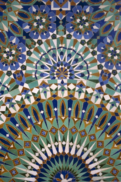 Colors From A Moroccan Mosque Offer An Authentic Palette