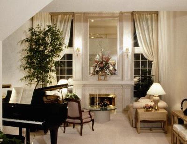 How To Arrange A Living Room With A Grand Piano