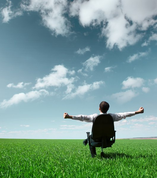Permita-se relaxar e deixe que as boas ideias surjam de forma natural