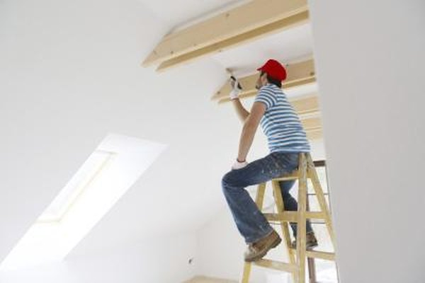 How To Paint The Wall And Ceiling Without Getting Brushstrokes That
