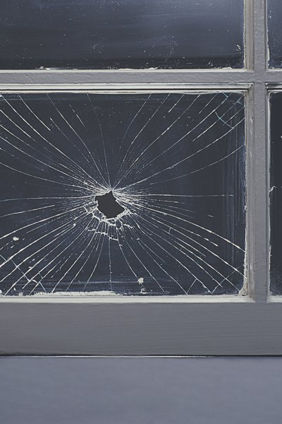 Some homeowners policies cover broken windows.