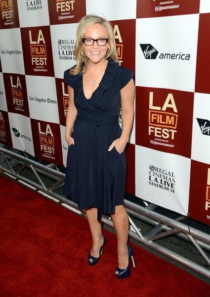 Atriz Rachael Harris no lançamento do Los Angeles Film Festival, Junho de 2012.