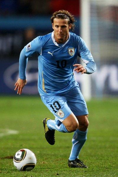 Diego Forlán, estrela do Uruguai