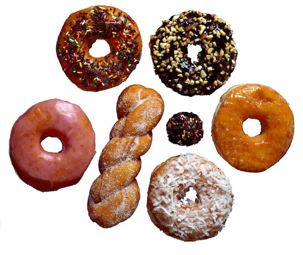 Donuts are high in saturated fat.