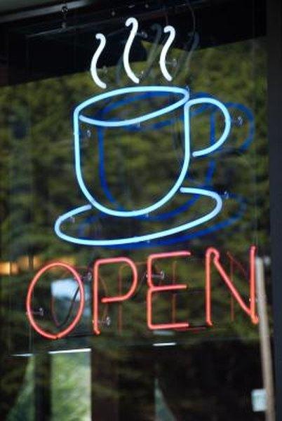 c mo dise ar el letrero para una cafeter a peque a y On como disenar una cafeteria