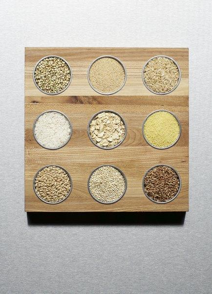 As fibras do arroz integral dão energia à mãe e ao bebê