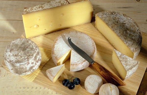 Ao contrário do queijo de vaca, o queijo de cabra possui baixo teor do colesterol ruim