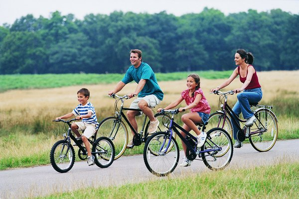 Bike Riding Is An Inexpensive Activity On A Family Vacation