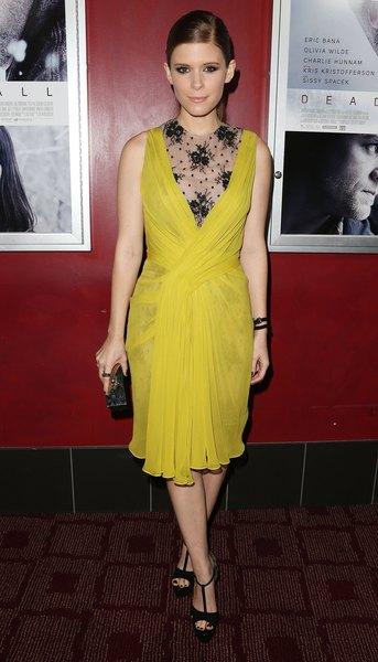 """Atriz Kate Mara na estréia do filme da Magnolia Pictures """"Deadfall"""", em 29 de novembro de 2012, em Hollywood, California."""
