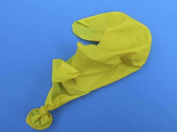 Deflated balloon.