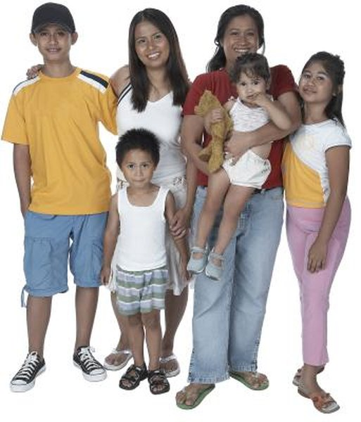 The size of your family does not determine whether you are eligible to claim exempt status.
