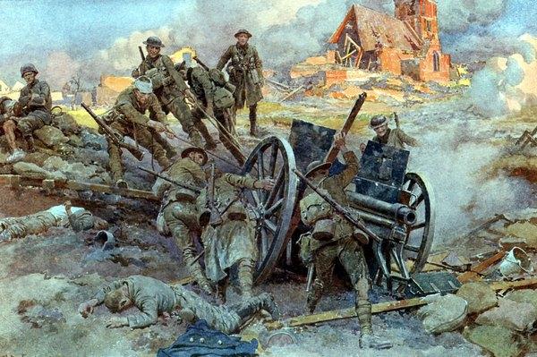 A tecnologia de telecomunicações teve um papel importante na Primeira Guerra Mundial