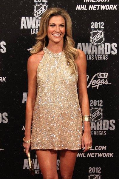 Comentarista esportiva Erin Andrews no 2012 NHL Awards