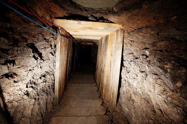 Túneis de cartéis mexicanos para chegar aos EUA