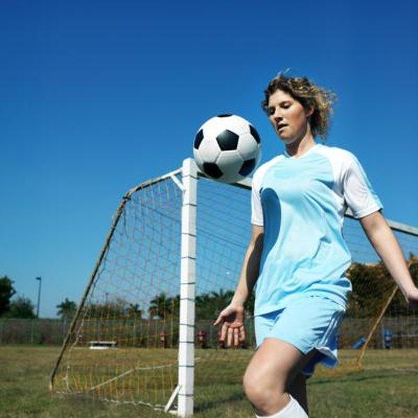 Balance Ball Kick: Muscles Used In Kicking A Soccer Ball