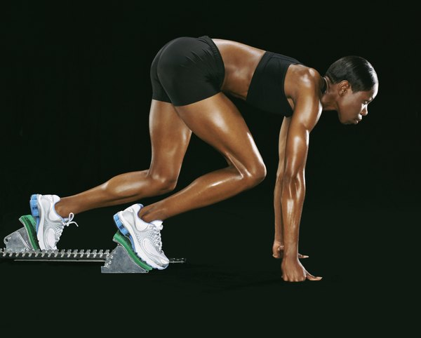 Image result for woman sprinting for calves