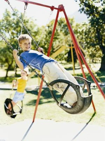 How To Install Ground Anchors For A Swing Set Home Guides Sf Gate