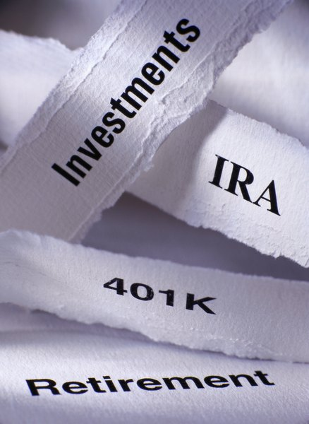 Retirement accounts typically invest in more than a single stock.