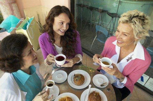 Cierra con broche de oro: un rico café o té de sabores.