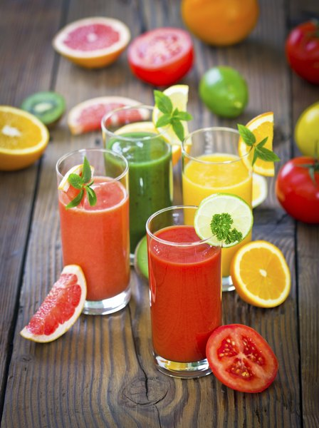 Sucos naturais: alimentação nutritiva e saudável