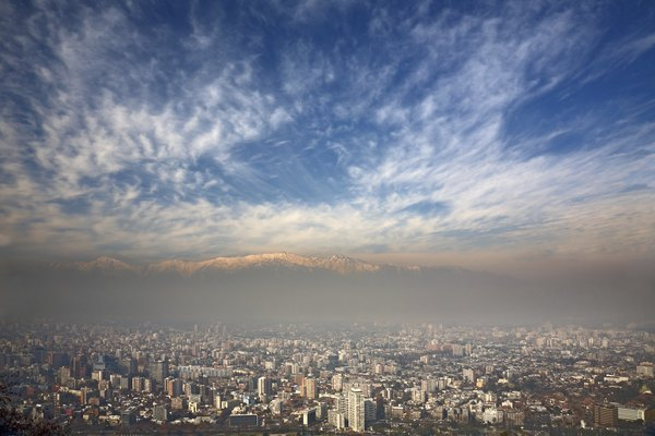 Winter smog is created by the excessive use of fossil fuels to heat up homes and buildings.