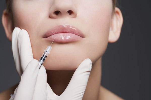 Medical spa RNs frequently perform injectable treatments such as Restylane in the lips.