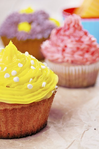 Cupcakes rellenos.