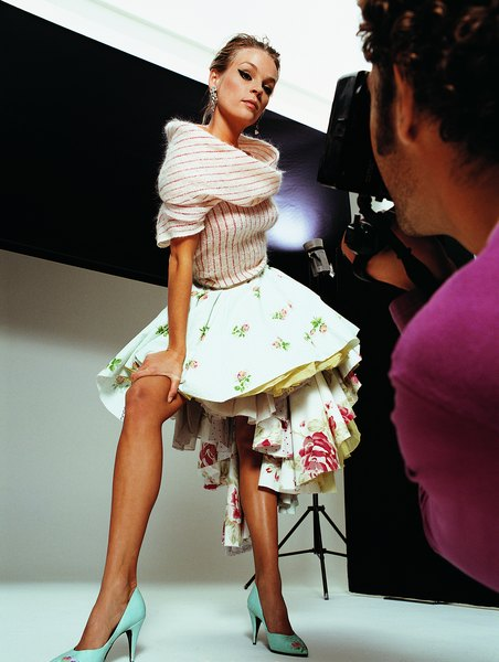 What type of specialized training is needed to become a model woman bring attitude to a photo shoot ccuart Gallery