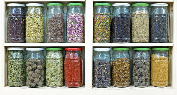 Glass jars can serve as reusable storage containers for years.