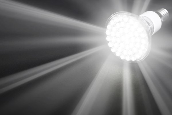 LED bulbs are much more efficient