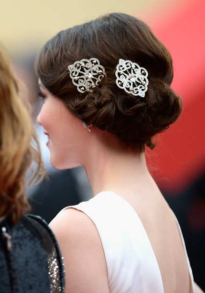 Tipos diferentes de coques de cabelo