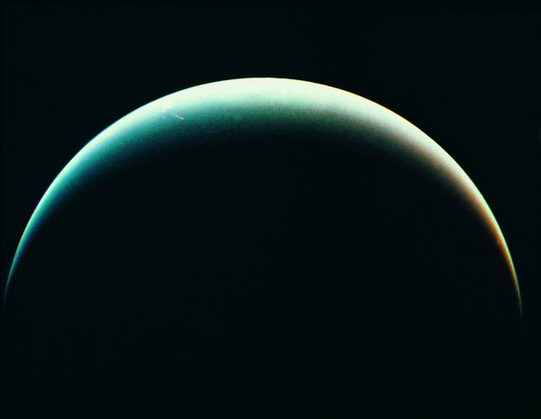 View of Neptune from the Voyager spacecraft