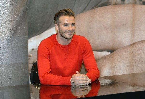 O David Beckham é um talentoso (e milionário) futebolista inglês