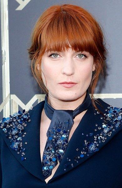Florence Welch e seu ruivo marcante