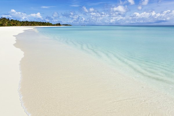 A beach in the Caribbean.