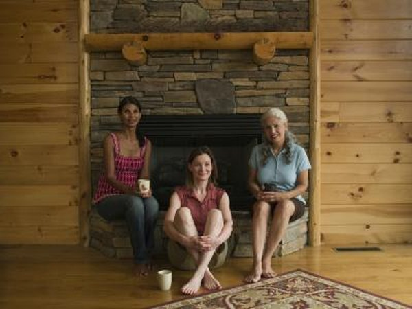 How To Decorate A Wood Paneled Wall With A Fireplace Home