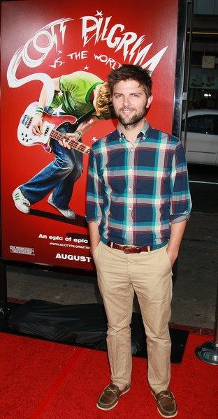 O ator Adam Scott